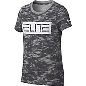 Nike Girls' Dry Elite Printed T-Shirt