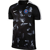 Nike Men's Paris Saint-Germain FC Black 17/18 Dry Squad Football Training Top