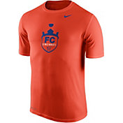 Nike Men's FC Cincinnati Dri-FIT Legend 2.0 Logo Orange Short Sleeve T-Shirt