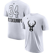 Jordan Men's 2018 NBA All-Star Game Giannis Antetokounmpo Dri-FIT White T-Shirt