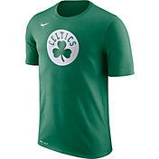 Nike Men's Boston Celtics Dri-FIT Kelly Green Logo T-Shirt