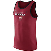 Nike Men's Miami Heat Dri-FIT Red Tank Top