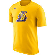 Nike Men's Los Angeles Lakers Dri-FIT Gold Logo T-Shirt