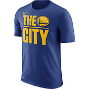 Nike Men's Golden State Warriors Dri-FIT The City Royal T-Shirt