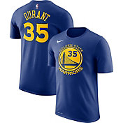 Nike Men's Golden State Warriors Kevin Durant #35 Dri-FIT Royal T-Shirt