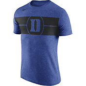 Nike Men's Duke Blue Devils Duke Blue Logo Basketball T-Shirt