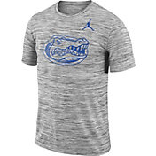 Jordan Men's Florida Gators Charcoal Football Dri-FIT Travel T-Shirt