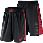 Nike Men's Ohio State Buckeyes PHK Elite Basketball Black Shorts
