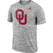 Jordan Men's Oklahoma Sooners Charcoal Football Dri-FIT Travel T-Shirt