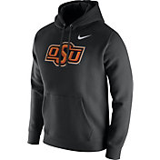 Nike Men's Oklahoma State Cowboys Black Club Fleece Hoodie