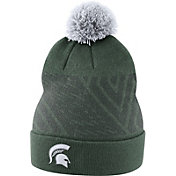Nike Men's Michigan State Spartans Green Football Sideline Beanie