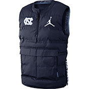 Jordan Men's North Carolina Tar Heels Navy Aeroshield Vest