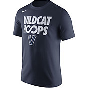 Nike Men's Villanova Wildcats Navy 'Wildcat Hoops' Basketball T-Shirt