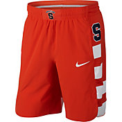 Nike Men's Syracuse Orange Orange Authentic Basketball Shorts