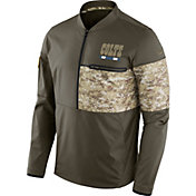 Nike Men's Indianapolis Colts Salute to Service 2017 Shield Hybrid Jacket