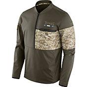 Nike Men's Tennessee Titans Salute to Service 2017 Shield Hybrid Jacket
