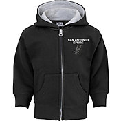 NBA Toddler San Antonio Spurs Black Full-Zip Hoodie