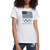 Nike Women's Sportswear United States Olympic Committee Rings T-Shirt