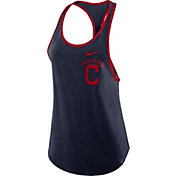 Nike Women's Cleveland Indians Tri-Blend Tank Top