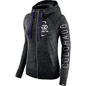 Nike Women's Colorado Rockies Vintage Full-Zip Hoodie