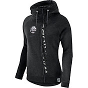 Nike Women's Golden State Warriors Black Full-Zip Hoodie