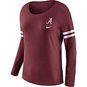 Nike Women's Alabama Crimson Tide Crimson Tailgate Long Sleeve Shirt