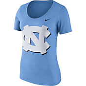 Nike Women's North Carolina Tar Heels Carolina Blue Modern Sport Scoop Neck T-Shirt