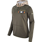 Nike Women's Denver Broncos Salute to Service 2017 Therma-FIT Performance Hoodie