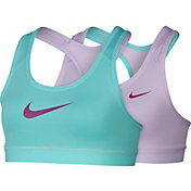 Nike Girls' Pro Cool Home and Away Reversible Sports Bra