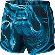Nike Women's Dry Tempo Chemistry Printed Running Shorts