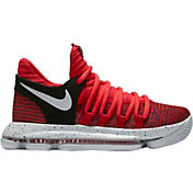 Nike Kids' Grade School Zoom KD 10 Basketball Shoes