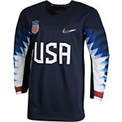 Nike Youth USA Hockey Replica Navy Jersey