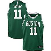 Nike Youth Boston Celtics Kyrie Irving #11 Kelly Green Dri-FIT Swingman Jersey