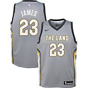 Nike Youth Cleveland Cavaliers LeBron James Dri-FIT City Edition Swingman Jersey