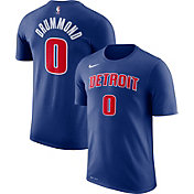 Nike Youth Detroit Pistons Andre Drummond #0 Dri-FIT Royal T-Shirt