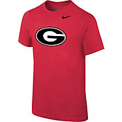 Nike Youth Georgia Bulldogs Red Logo T-Shirt