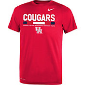Nike Youth Houston Cougars Red Football Staff Legend T-Shirt