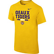 Nike Youth LSU Tigers Gold Local Verbiage T-Shirt