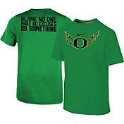Nike Youth Oregon Ducks Apple Green 2017 Football Spring Game Legend T-Shirt