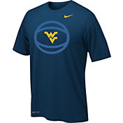 Nike Youth West Virginia Mountaineers Blue Legend Basketball T-Shirt