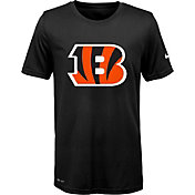 Nike Youth Cincinnati Bengals Legend Logo Black Performance T-Shirt