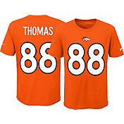 Nike Youth Denver Broncos Demaryius Thomas #88 Pride Orange T-Shirt