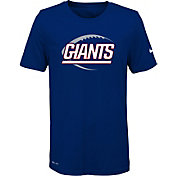 Nike Youth New York Giants Legend Icon Performance Royal T-Shirt