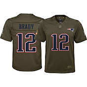 Nike Youth Home Limited Salute to Service New England Patriots Tom Brady #12 Jersey
