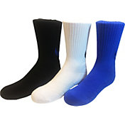 Nike Kids' High Brande Read Trainers Crew Socks 3-Pack