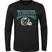 NFL Team Apparel Youth Jacksonville Jaguars 'Go Get Em' Long Sleeve Black Shirt