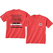 New World Graphics Men's Georgia Bulldogs Red 'The Truth About Georgia' T-Shirt