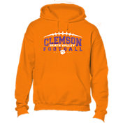 New World Graphics Youth Clemson Tigers Orange Hoodie