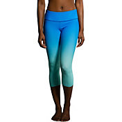 Onzie Women's Graphic Indian Blue Capris