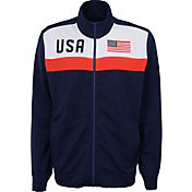 Outerstuff Youth USA Soccer Navy Track Jacket